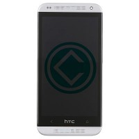 HTC Desire 601 LCD Screen With Digitizer Module With Frame - White
