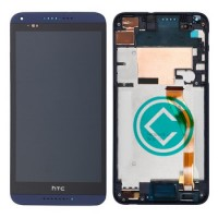 HTC Desire 816 LCD Screen With Front Housing Module - Blue