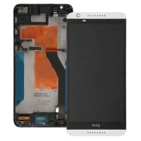 HTC Desire 820 LCD Screen With Digitizer Full Module - White