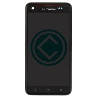 HTC Droid DNA LCD Screen With Front Housing Module - Black