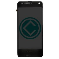 HTC One Mini LCD Screen With Front Housing Module - Black