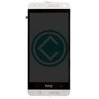 HTC One Mini LCD Screen With Front Housing Module - White