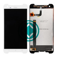 HTC One X9 LCD Screen With Digitizer Module - White