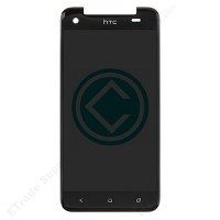 HTC J Butterfly LCD Screen With Digitizer Full Module-Black