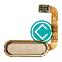 HTC One E9 Plus Home Button Flex Cable Module - Gold