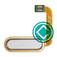 HTC One A9 Home Button Flex Cable Module White