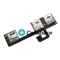 HTC One M7 Dual Sim Card Reader Flex Cable Module