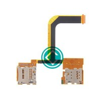 HTC One Mini 2 Sim Card And SD Card Reader Flex Cable Module