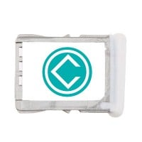 HTC One X Sim Tray Module - White
