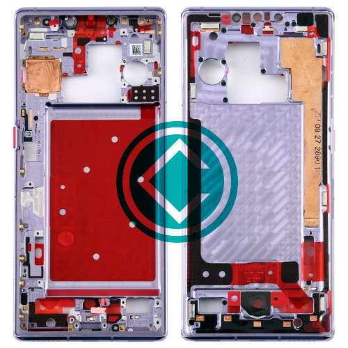 Huawei Mate 30 Pro Middle Frame Housing Panel Module - Silver