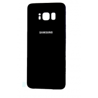 Samsung Galaxy S8  Rear Housing Battery Door Module - Black