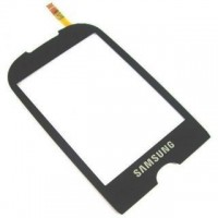 Samsung S3653 Corby Digitizer Touch Pad Glass Module - Black