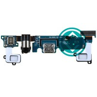 Samsung Galaxy A8 Charging Port Flex Cable Module With Earphone Jack