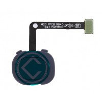 Samsung Galaxy M20 Fingerprint Sensor Flex Cable - Black