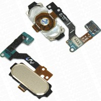 Samsung Galaxy A8 Home Button Flex Cable Module Gold