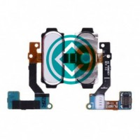 Home Button Flex Cable Module White For Samsung Galaxy A8