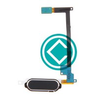 Samsung Galaxy Note 4 Home Button Flex Cable Module - Black