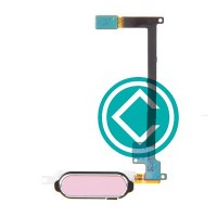 Samsung Galaxy Note 4 Fingerprint Sensor Flex Cable - Pink