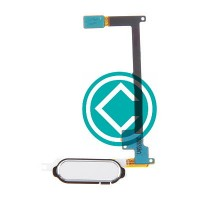 Samsung Galaxy Note 4 Home Button Flex Cable Module White