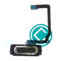 Samsung Galaxy S5 Home Button Key Flex Cable Module - Black