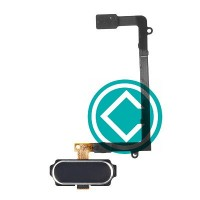 Samsung Galaxy S6 Edge Home Button Flex Cable Module Blue