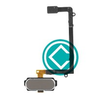 Samsung Galaxy S6 Edge Home Button Flex Cable Module Gold