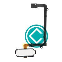 Samsung Galaxy S6 Edge Home Button Flex Cable Module White