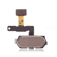 Samsung Galaxy J7 Pro Home Button Key Flex Cable - Gold