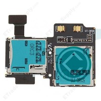 Samsung Galaxy S4 I9500 Sim And SD Card Flex Cable