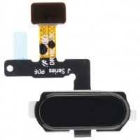 Samsung Galaxy J7 Pro Fingerprint Sensor Flex Cable - Black