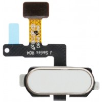 Samsung Galaxy J7 Pro Fingerprint Sensor Flex Cable - White