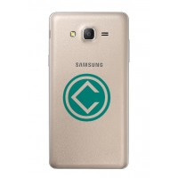 Samsung Galaxy On7 Rear Housing Battery Door Module - Gold