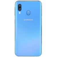Samsung Galaxy A40 A405 Rear Housing Panel Battery Door Module - Blue