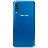 Samsung Galaxy A50 A505 Rear Housing Panel Battery Door Module - Blue