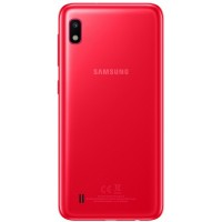 Samsung Galaxy A10 Rear Housing Panel Module - Red
