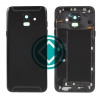 Samsung Galaxy A6 2018 Rear Housing Panel Battery Door Module - Black
