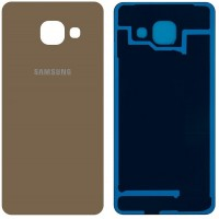 Samsung Galaxy A3 2016 Rear Housing Battery Door Module - Gold