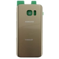 Samsung Galaxy S7 G930 Rear Housing Panel Battery Door - Gold