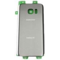 Samsung Galaxy S7 G930 Rear Housing Panel Battery Door - Silver