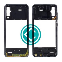 Samsung Galaxy A50 A505 Middle Frame Housing Panel Module - Black