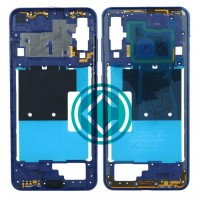 Samsung Galaxy A60 Middle Frame Housing Panel Module - Blue