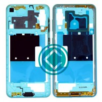Samsung Galaxy A60 Middle Frame Housing Panel Module - Light Blue