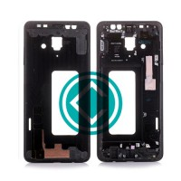 Samsung Galaxy A8 Plus Front Housing Module - Black