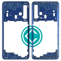 Samsung Galaxy A9 2018 Middle Frame Housing Panel Module - Blue
