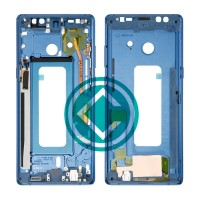 Samsung Galaxy Note 8 Middle Frame Housing Panel Module - Blue