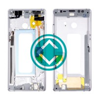 Samsung Galaxy Note 8 Middle Frame Housing Panel Module - Grey