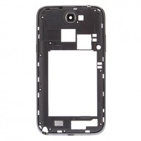 Samsung Galaxy Note 2 N7100 Middle Frame Cover - Black
