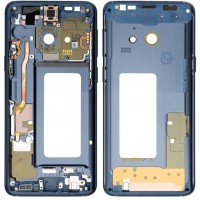 Samsung Galaxy S9 Plus LCD Supporting Middle Frame Module - Blue