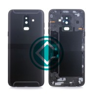 Samsung Galaxy A6 Plus 2018 Rear Housing Panel Battery Door - Black