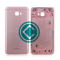 Samsung Galaxy C7 Pro Rear Housing Module - Pink